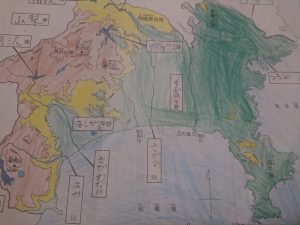 塗り絵神奈川県 (2)